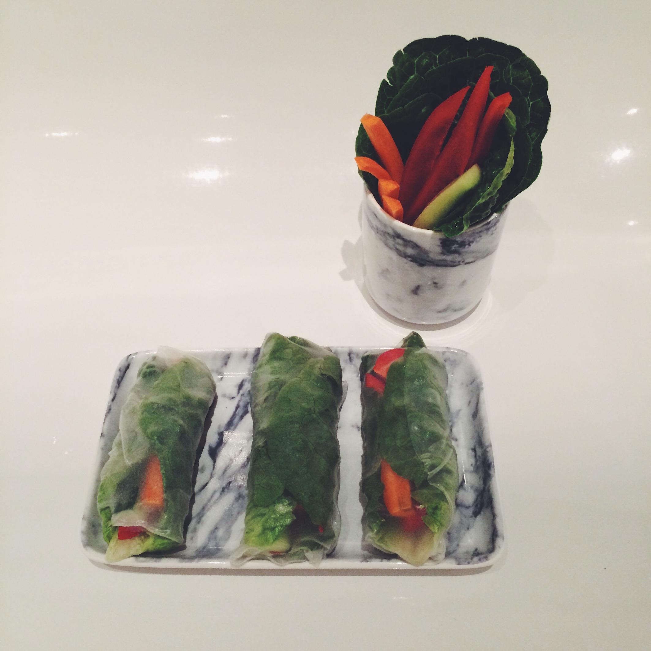 Vegane Summer Rolls