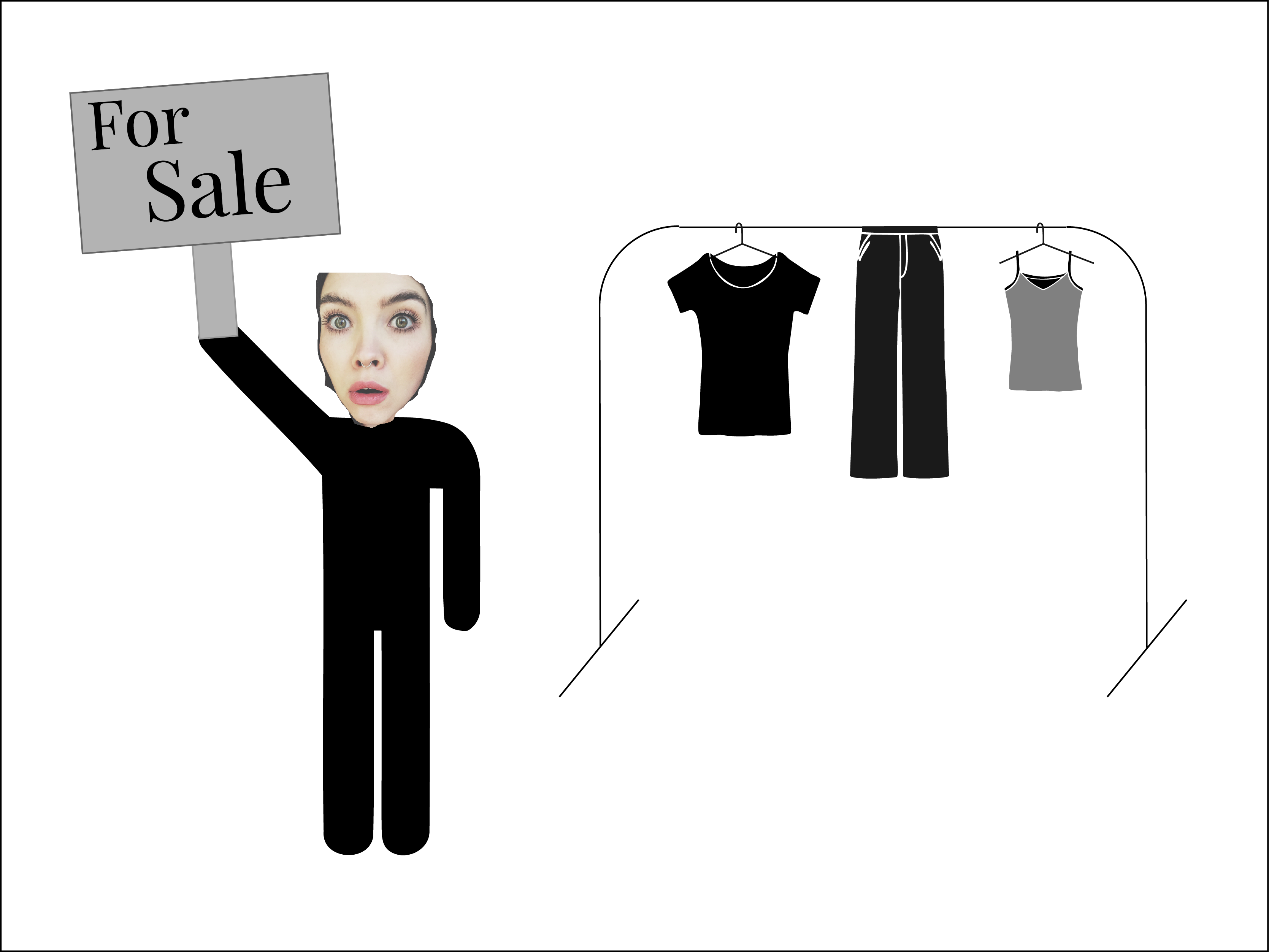 Minimalismus  – Kleidung richtig verkaufen