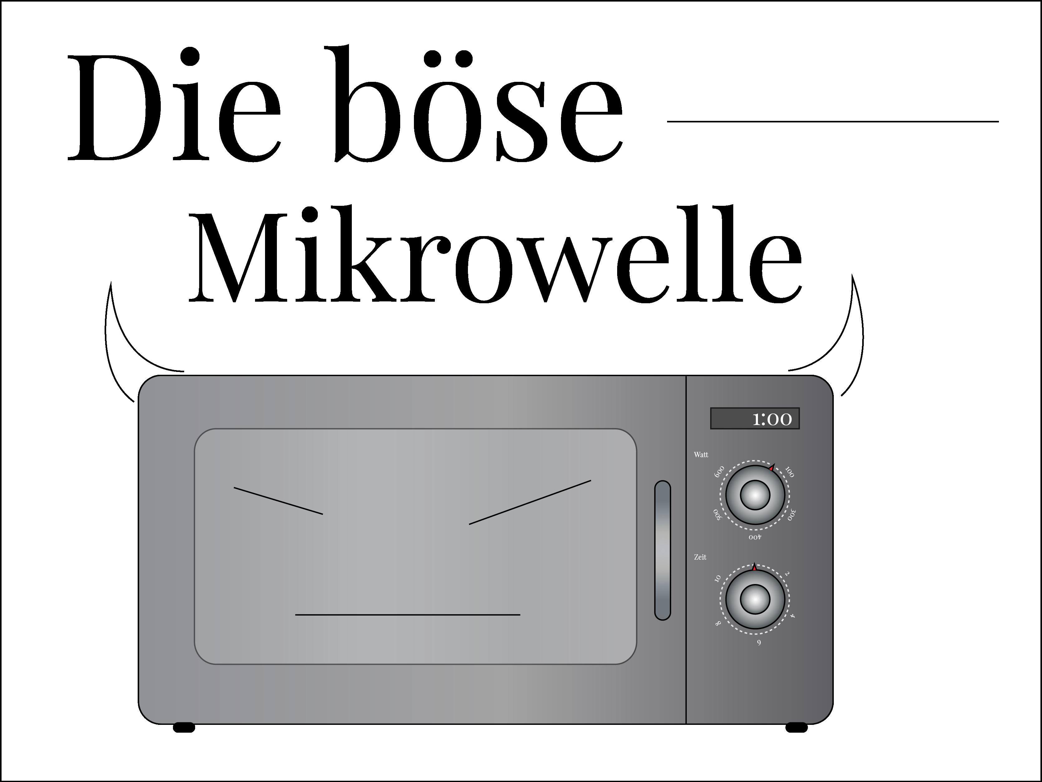 Mythos-Montag: Mikrowellen sind ungesund