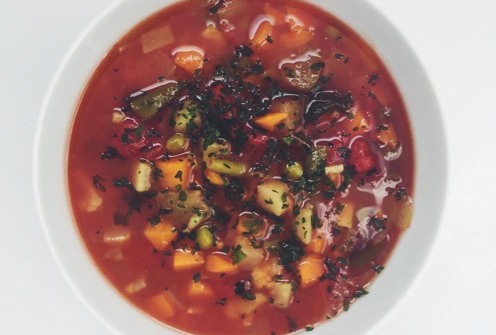 Gemüsesuppe für Arme (zum Abnehmen)