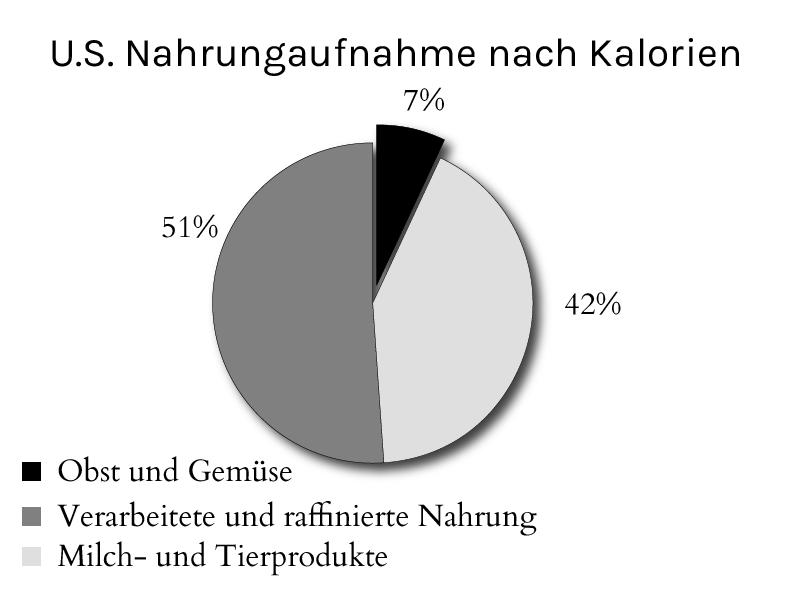 Ernährung von Amerikanern und Deutschen
