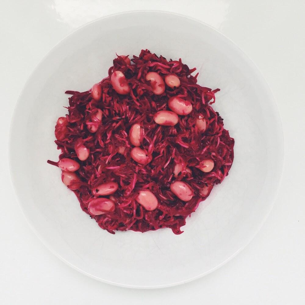Vegane Rote Bete Salat
